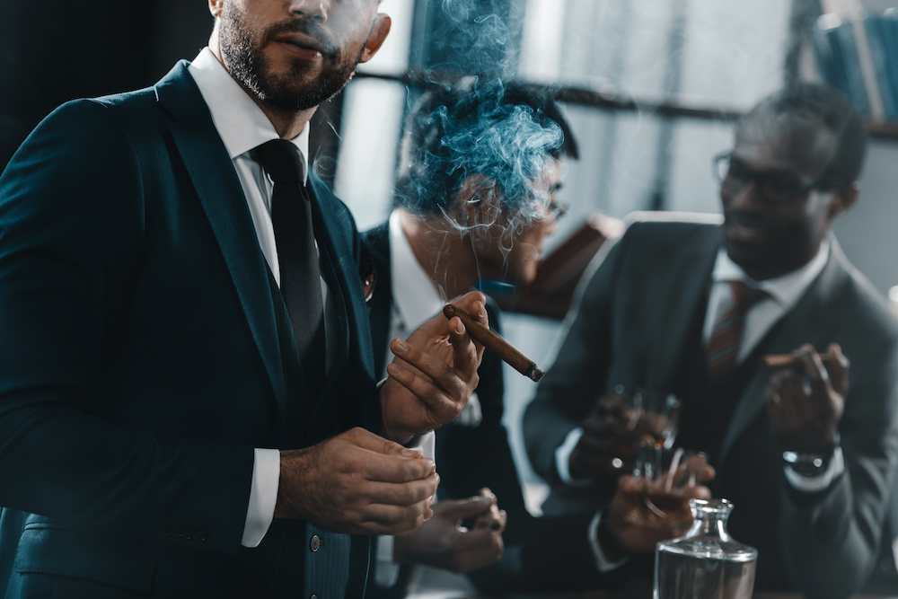 smoking one cigar a week